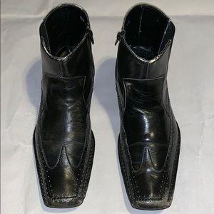 Steve Madden Mens Mendal Square Toe Ankles Boots